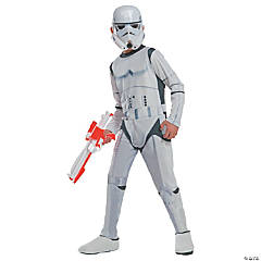 Boy's Photo Real Star Wars Stormtrooper Costume - Large