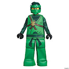 Boy's Prestige Lego Ninja Lloyd Costume