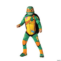 Boy's Rise of the Teenage Mutant Ninja Turtles™ Deluxe Michelangelo Costume - Small