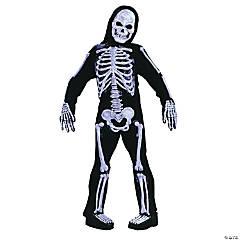 Boy's Skelebones Costume - Medium