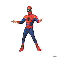 Boy's Spider-Man™: Into the Spider-Verse Peter Parker Costume - Small