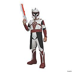 Boy's Star Wars Clone Wars Commander Fox Costume - Large