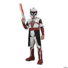 Boy's Star Wars Clone Wars Commander Fox Costume - Small