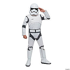 Boy's Star Wars: The Force Awakens™ Deluxe Stormtrooper Costume