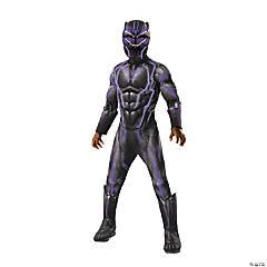 Boy's Super Deluxe Marvel Black Panther™ Light-Up Costume - Large