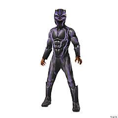 Boy's Super Deluxe Marvel Black Panther™ Light-Up Costume - Medium