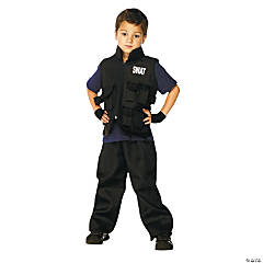 Boy's SWAT Costume - Large
