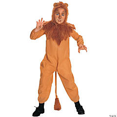 Boy's Wizard of Oz Cowardly Lion Costume - Large