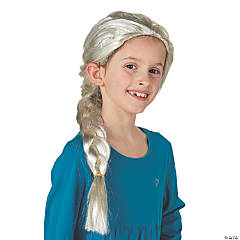 Braided Winter Princess Wig