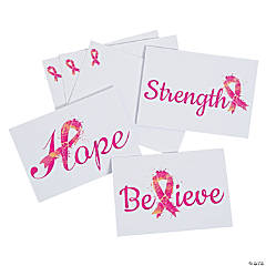Breast Cancer Awareness Notecards with Envelopes