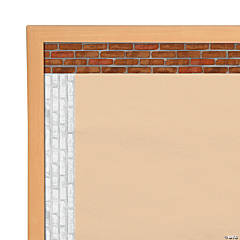 Brick Bulletin Board Borders