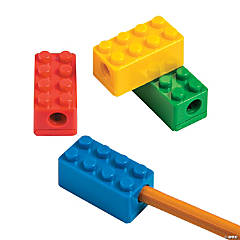 Brick Party Pencil Sharpeners