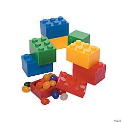 Brick Plastic Easter Eggs - 24 Pc.