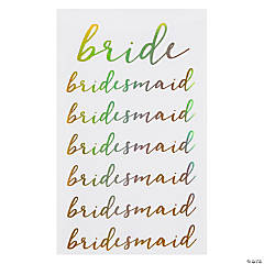 Bridal Party Stickers