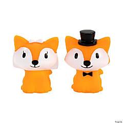 Bride & Groom Foxes