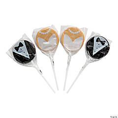 Bride & Groom Lollipops