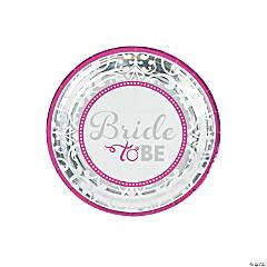 Bride to Be Dessert Plates