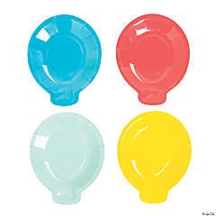 Bright Balloon-Shaped Dessert Plates