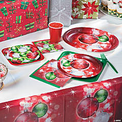 Bright Baubles Party Supplies