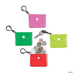 Bright Coin Purse Keychains