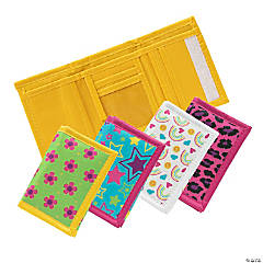Bright Color & Patterned Wallets