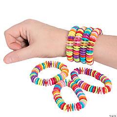 Bright Disc Bracelets