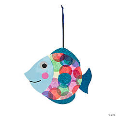 Bright Dot Fish Sign Craft Kit