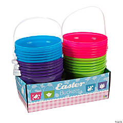 Bright Easter Icon Buckets