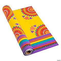 Bright Fiesta Tablecloth Roll
