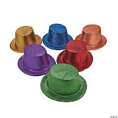 Bright Glitter Top Hats
