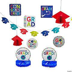 Bright Graduation Decorating Kit