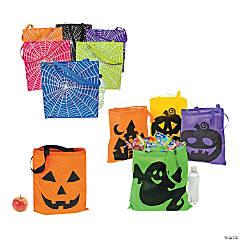 Bright Halloween Tote Bag Assortment