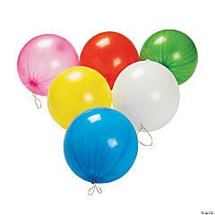 Bright Latex Punch Ball Balloon Assortment - 50 Pc.