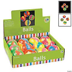 Bright Light-Up Spike Balls