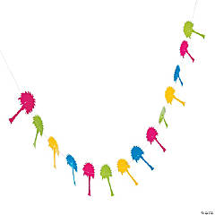 Bright Palm Tree Garland