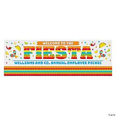 Bright Piñata Fiesta Custom Banner - Small