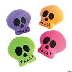 Bright Plush Skulls