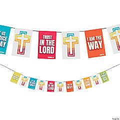 Bright Scripture Pennant Banner