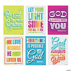 Bright Scripture Posters