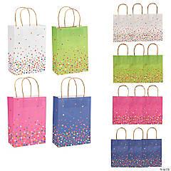 Bright Sprinkle Kraft Paper Bags