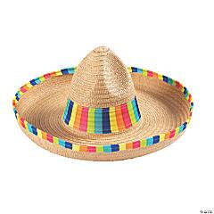 Bright Stripe Sombrero