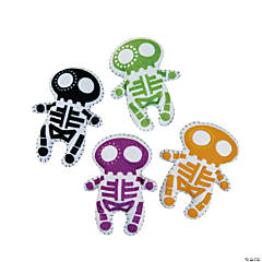 Bright Stuffed Skeletons