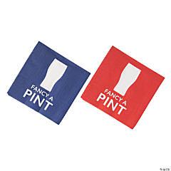 British Party Beverage Napkins