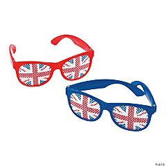 British Party Pinhole Glasses