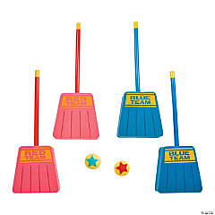 Broom Hockey Racket Ball Game