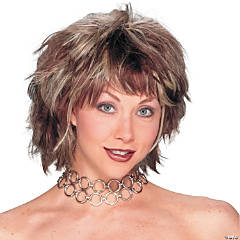Brown Choppy Layered Wig