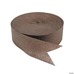 Brown Jumbo Paper Streamers