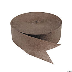 Brown Jumbo Paper Streamer