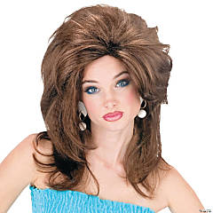 Brown Midwest Momma Wig