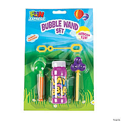 Bubble Bottle with Wands